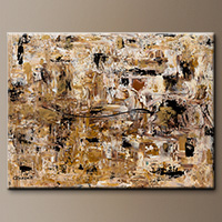 Abstract Art Painting - Touch of Gold - Art Gallery