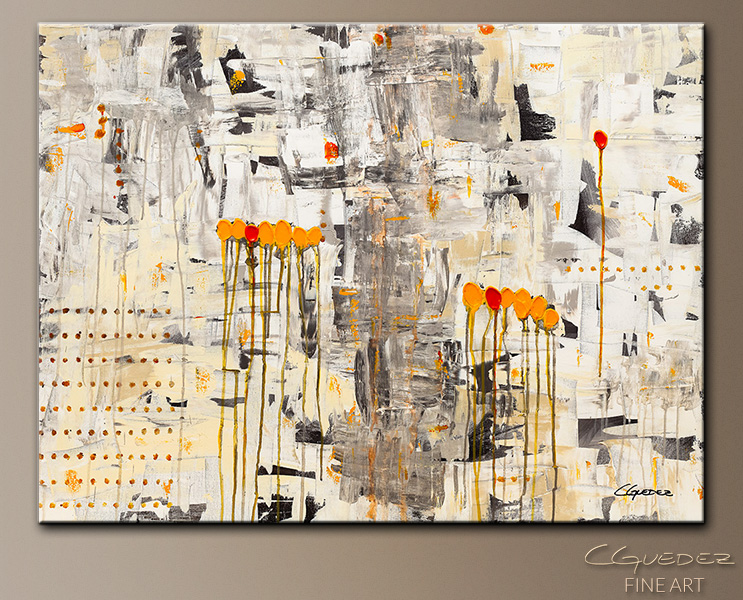 Tous Pour Un - Abstract Art Painting Image by Carmen Guedez