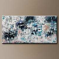 Original Abstract Painting - Tranquil Water - Contemporary Art