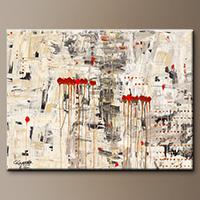 Modern Abstract Painting - Un Pour Tous - Art Canvas