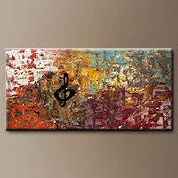 Universal Language-Flowers Art Gallery-Abstract Art Paintings Image