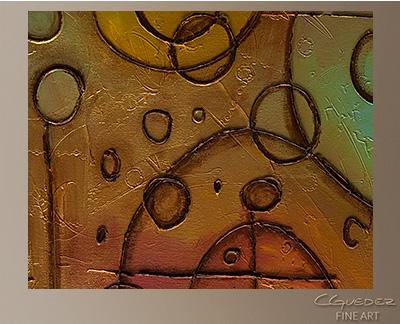Urban Abstract Modern Abstract Art Painting -Wall Art Close Up