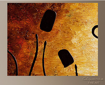 Vini Italiani famosi Modern Abstract Art Painting -Wall Art Close Up