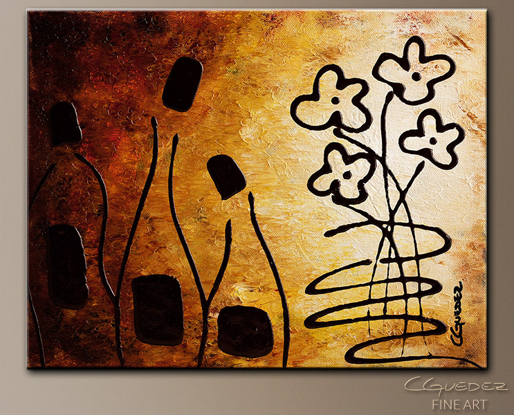 Vini Italiani Famosi - Abstract Art Painting Image by Carmen Guedez
