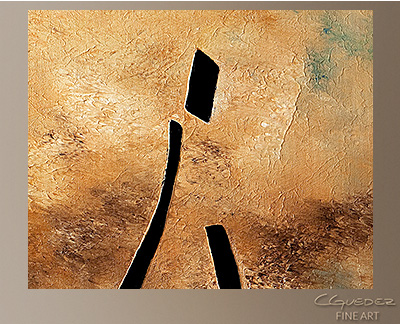 Vino de Arte Moderno Modern Abstract Art Painting -Wall Art Close Up