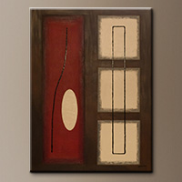 Vintage-Symbols Art Gallery-Abstract Art Paintings Image - Large Abstract