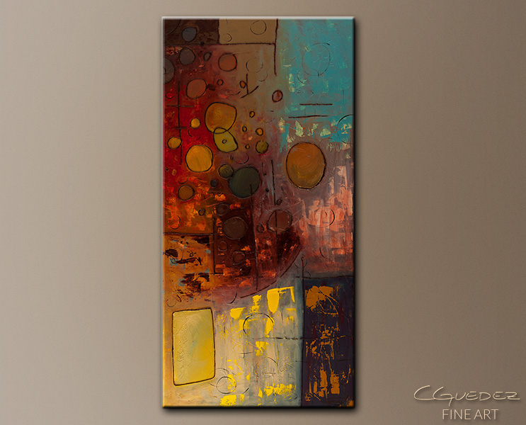 Voilà - Abstract Art Painting Image by Carmen Guedez