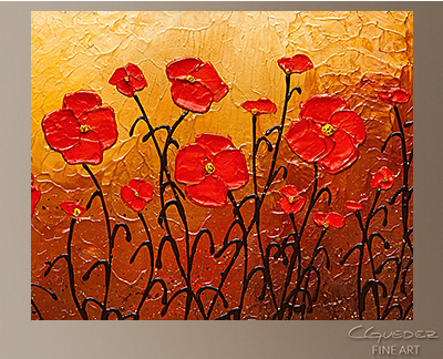 Well Beloved Modern Abstract Art Painting -Wall Art Close Up
