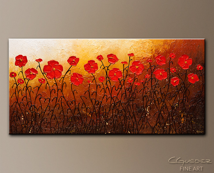 Well Beloved - Abstract Art Painting Image by Carmen Guedez
