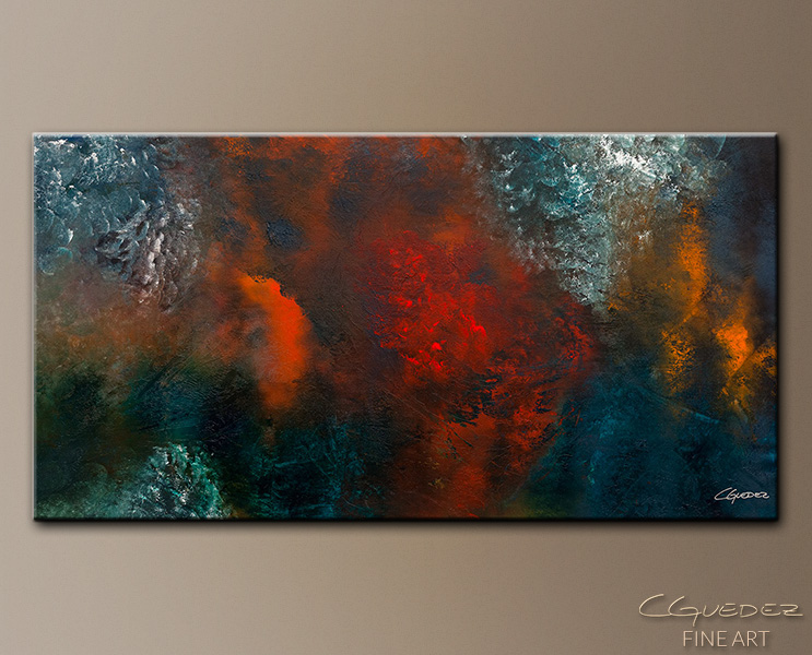 Wonderland - Abstract Art Painting Image by Carmen Guedez