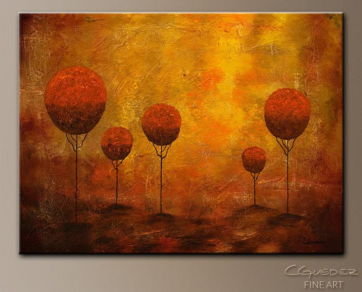 """""""Woodland"""" Landscape Painting"""