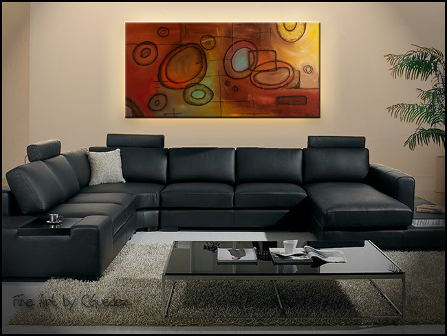 Googlit-Modern Contemporary Abstract Art Painting Image