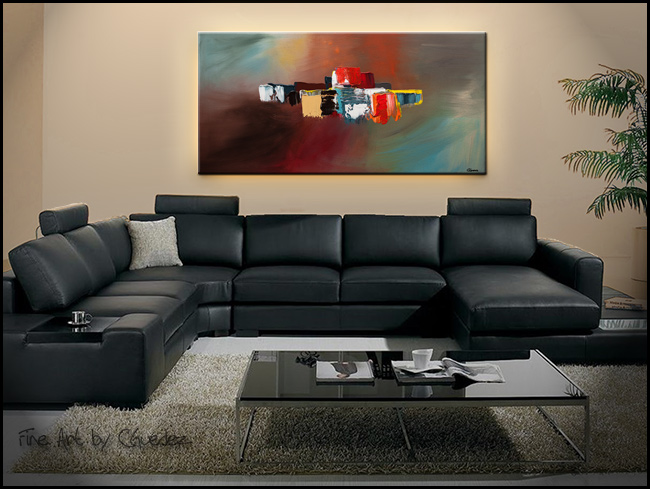 It's the Little Things-Modern Contemporary Abstract Art Painting Image