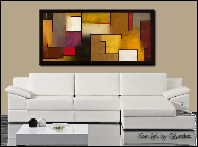 Mistaken Identity-Modern Contemporary Abstract Art Painting Image