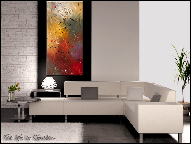 Morning Light-Modern Contemporary Abstract Art Painting Image