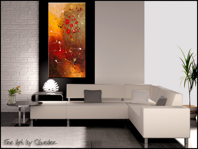 Passione-Modern Contemporary Abstract Art Painting Image