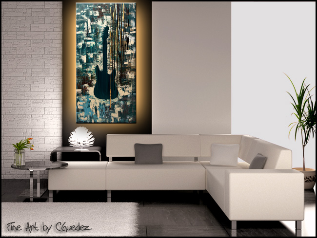 Rock Infusion-Modern Contemporary Abstract Art Painting Image
