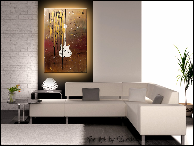 Sweet Emotion-Modern Contemporary Abstract Art Painting Image