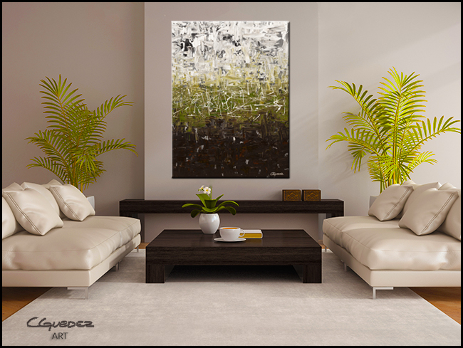 Musing-Modern Contemporary Abstract Art Painting Image