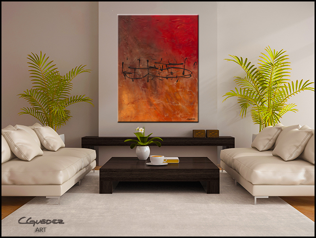 Nocturne-Modern Contemporary Abstract Art Painting Image