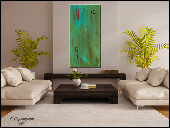 One and Only-Modern Contemporary Abstract Art Painting Image