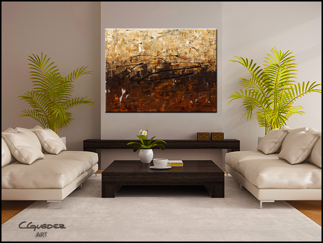 Symphony-Modern Contemporary Abstract Art Painting Image