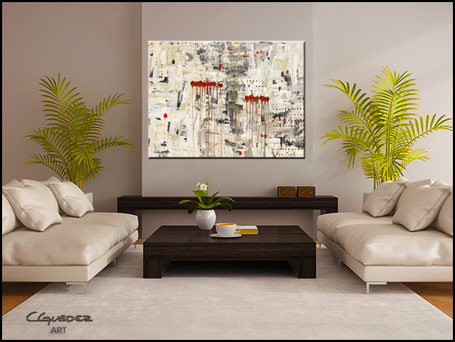 Un Pour Tous-Modern Contemporary Abstract Art Painting Image
