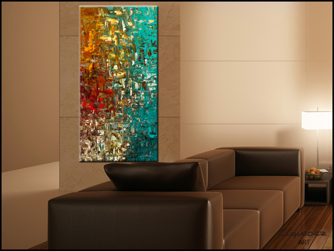 A Moment in Time-Modern Contemporary Abstract Art Painting Image