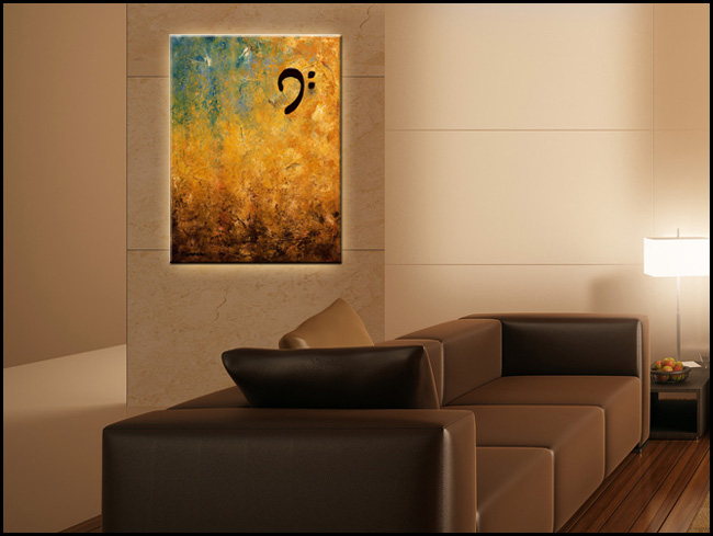 Along the Shore-Modern Contemporary Abstract Art Painting Image