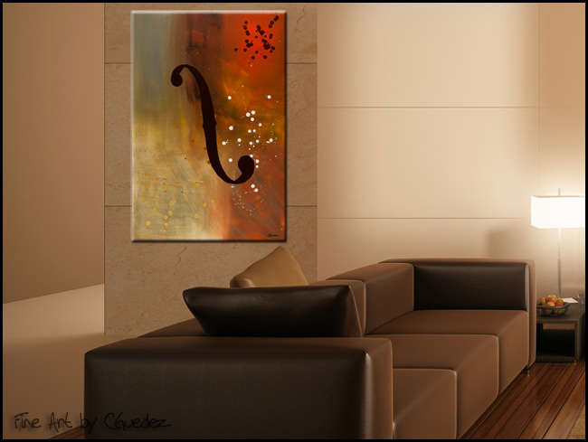 Efe-Modern Contemporary Abstract Art Painting Image