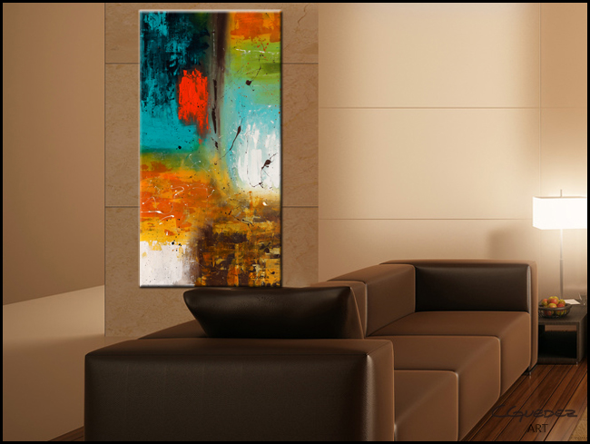 Landmarks-Modern Contemporary Abstract Art Painting Image