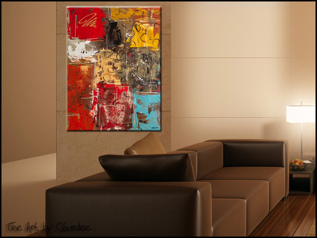 The King Interior Design Art Paintings Art Deco Modern