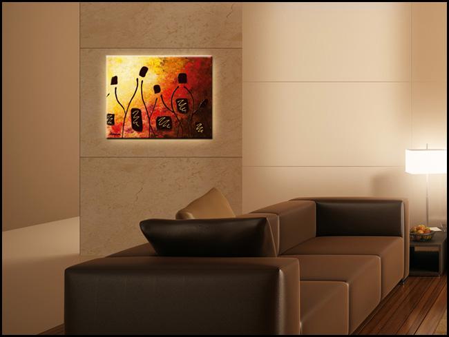 Tresors de Bourgogne-Modern Contemporary Abstract Art Painting Image