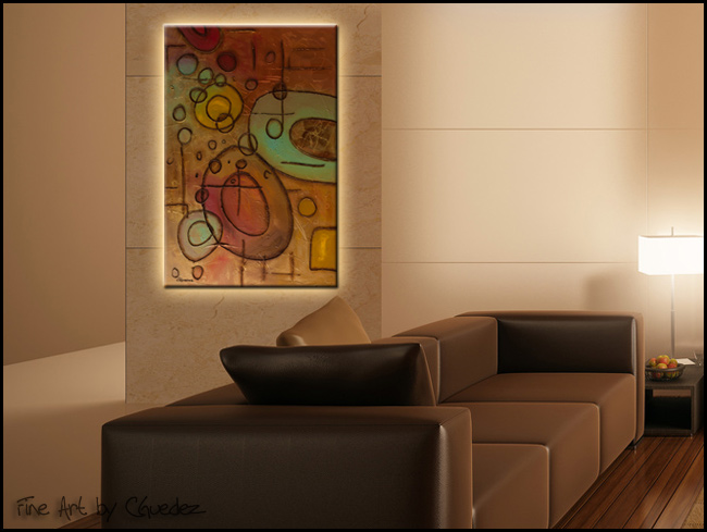 Urban Abstract-Modern Contemporary Abstract Art Painting Image