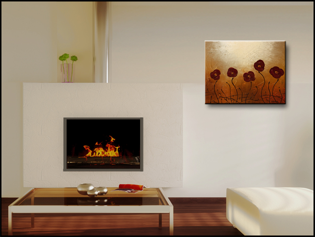 Endless Love-Modern Contemporary Abstract Art Painting Image