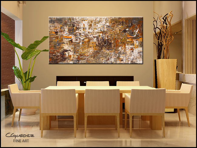 Above and Beyond-Modern Contemporary Abstract Art Painting Image