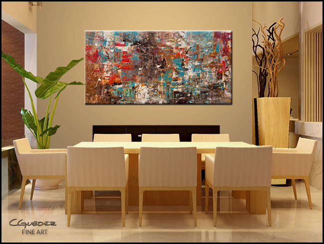 Can't Stop-Modern Contemporary Abstract Art Painting Image