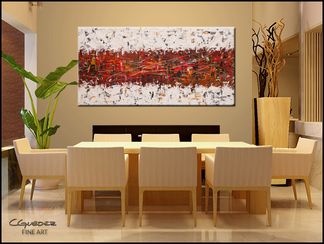 Chit Chat-Modern Contemporary Abstract Art Painting Image