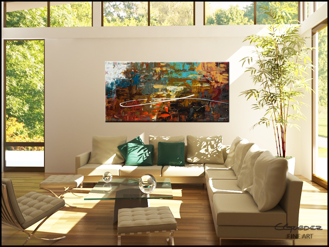 A Dream Come True-Modern Contemporary Abstract Art Painting Image