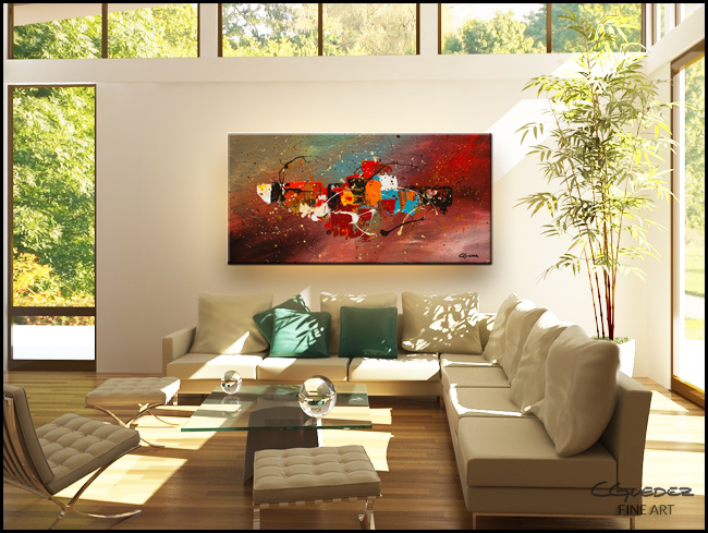 Boundaries-Modern Contemporary Abstract Art Painting Image