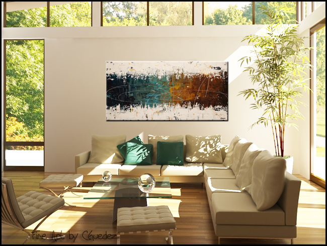 Catch Me If You Can-Modern Contemporary Abstract Art Painting Image