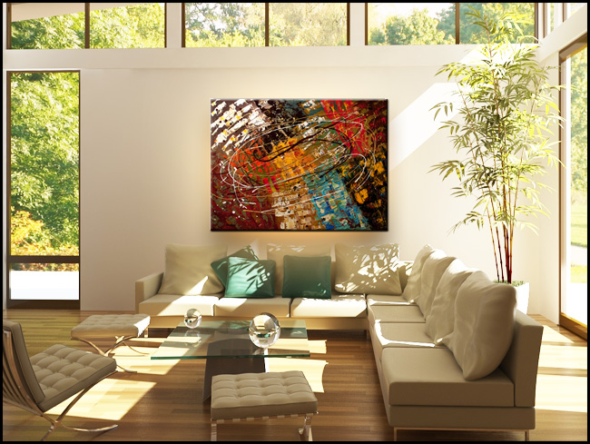 Enigma-Modern Contemporary Abstract Art Painting Image