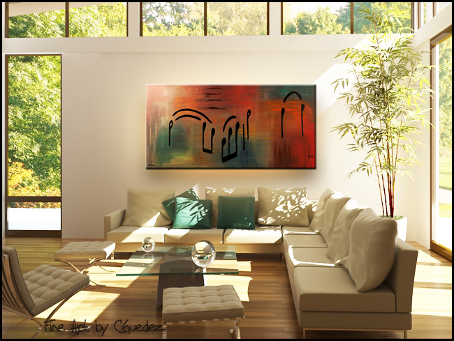 Meditation-Modern Contemporary Abstract Art Painting Image