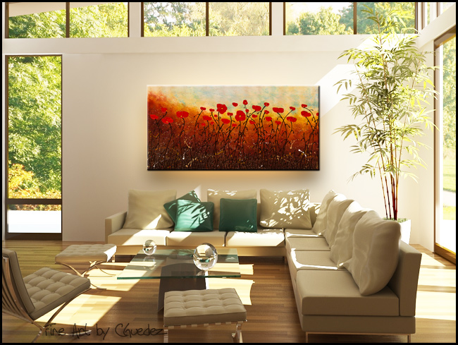 New Life Abounds-Modern Contemporary Abstract Art Painting Image