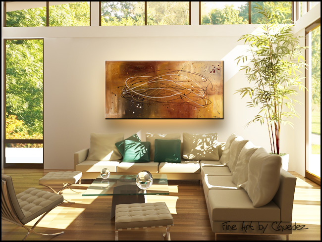 Success-Modern Contemporary Abstract Art Painting Image