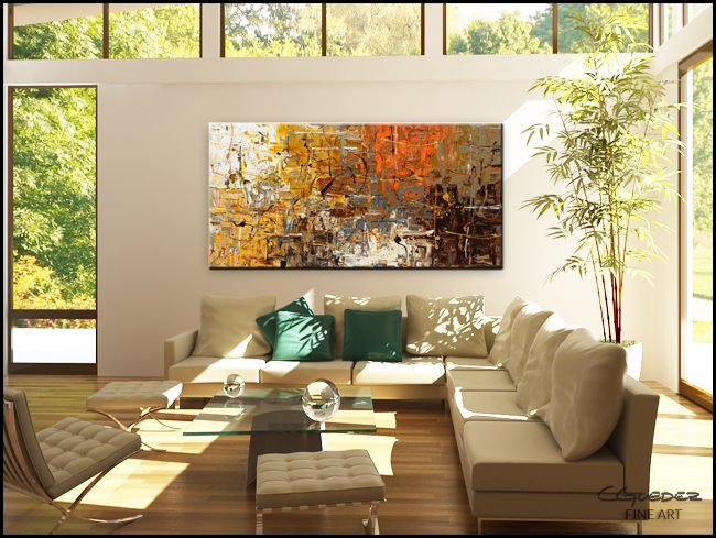 The More The Merrier-Modern Contemporary Abstract Art Painting Image