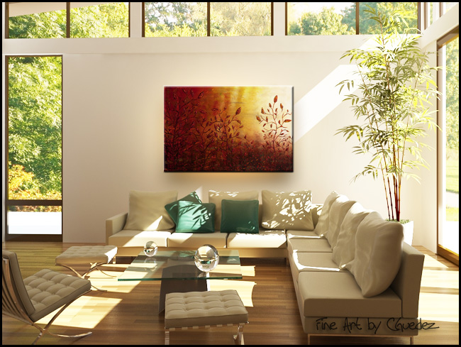 Where I Grew Up-Modern Contemporary Abstract Art Painting Image