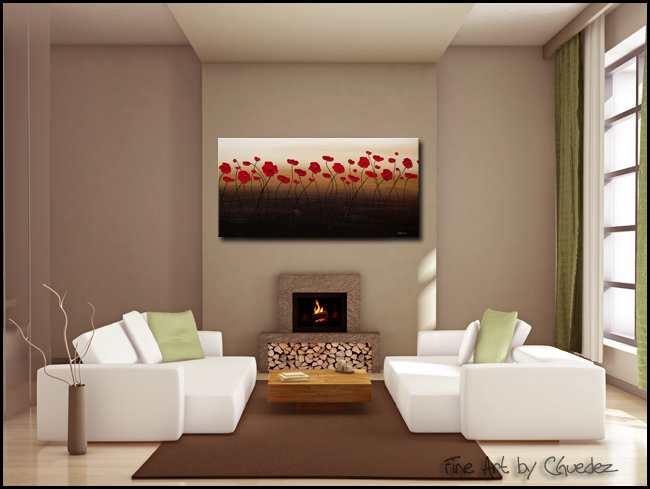 A New Day-Modern Contemporary Abstract Art Painting Image