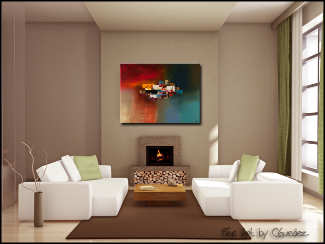 Dream-Modern Contemporary Abstract Art Painting Image