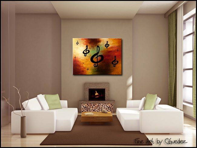 G Rhapsody-Modern Contemporary Abstract Art Painting Image